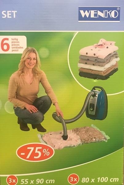 Σάκος ρούχων Wenko Vacuum