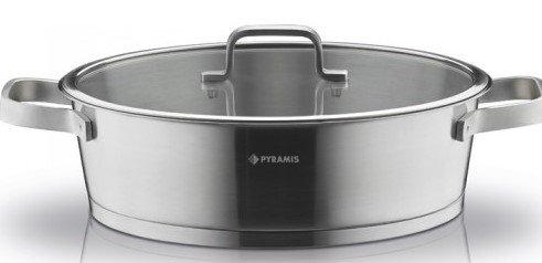 Ανοξείδωτη Σοτέζα Pyramis Steel Line 30cm