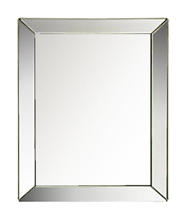 Καθρέπτης με Κορνίζα απο Μπιζουτέ Καθρέπτη (Μήκος: 82 Βάθος: - Ύψος: 100)