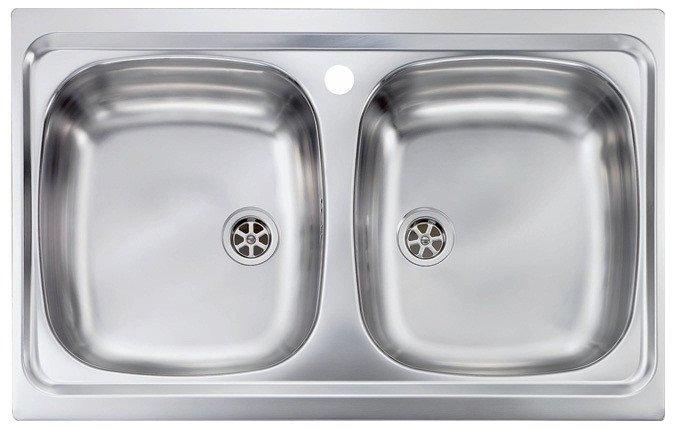 Νεροχύτης Sanitec Mondial 2V