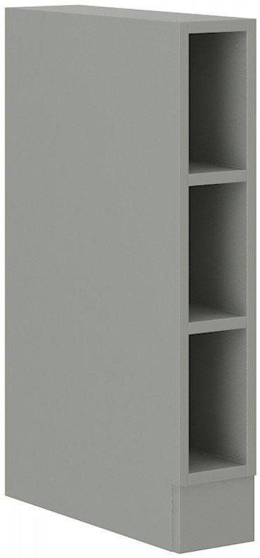 Επιδαπέδιο ντουλάπι με ράφια Ingrid 15