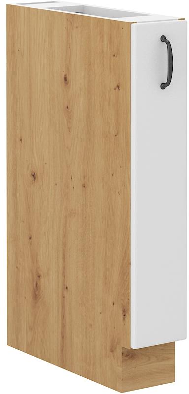 Επιδαπέδιο ντουλάπι με καλάθι Yvette 15 D