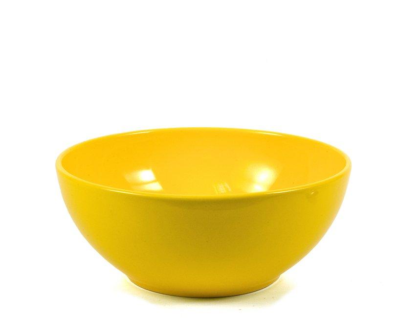 Σαλατιέρα Stoneware -Κίτρινο