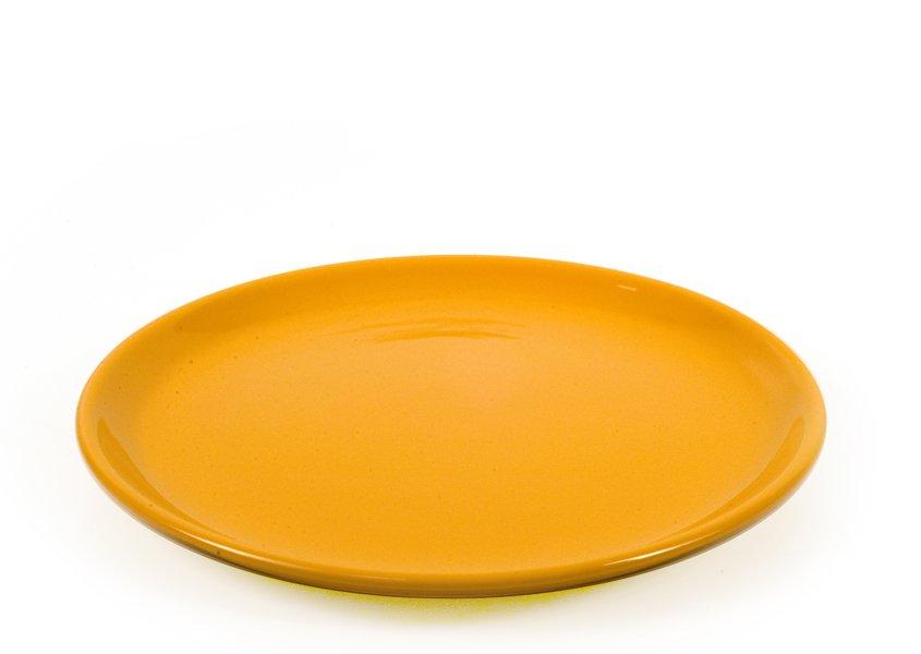 Πιατέλα Stoneware-Πορτοκαλί