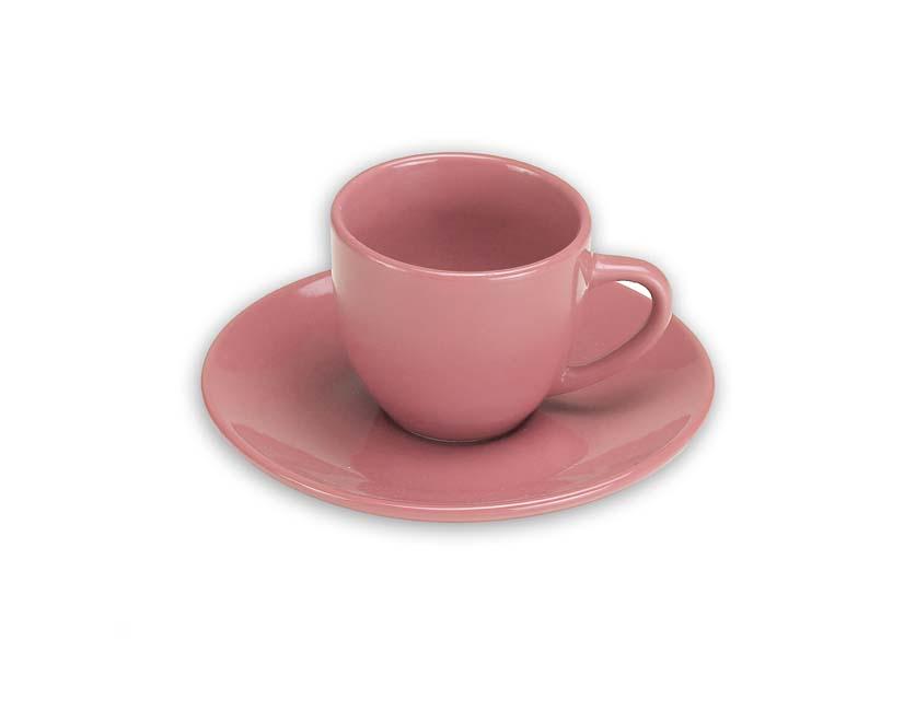Ποτήρια Espresso Ροζ