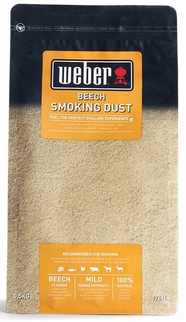 Σκόνη καπνίσματος Weber οξιάς 500gr