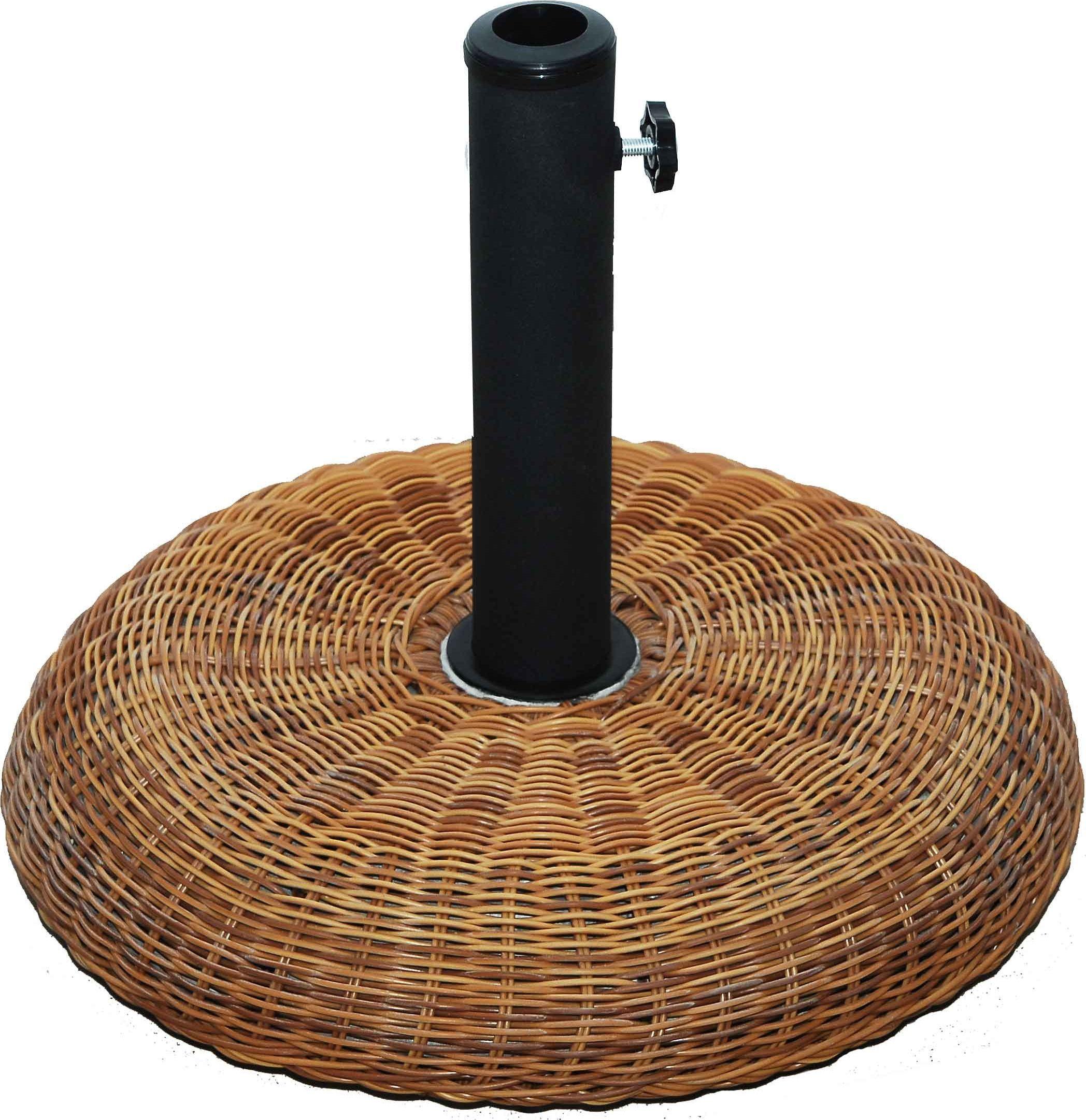 Βάση ομπρέλας στρόγγυλη με όψη μπαμπού