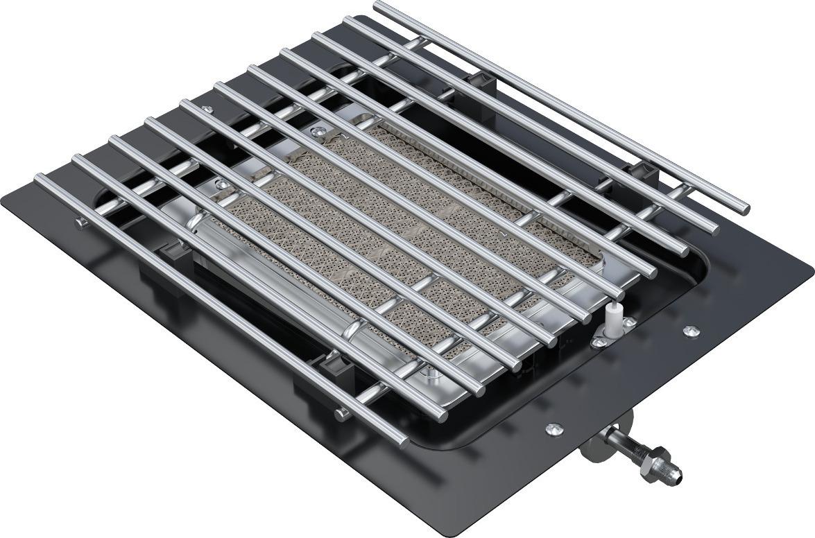 Υπέρυθρος κεραμικός καυστήρας Outdoorchef Dualchef S
