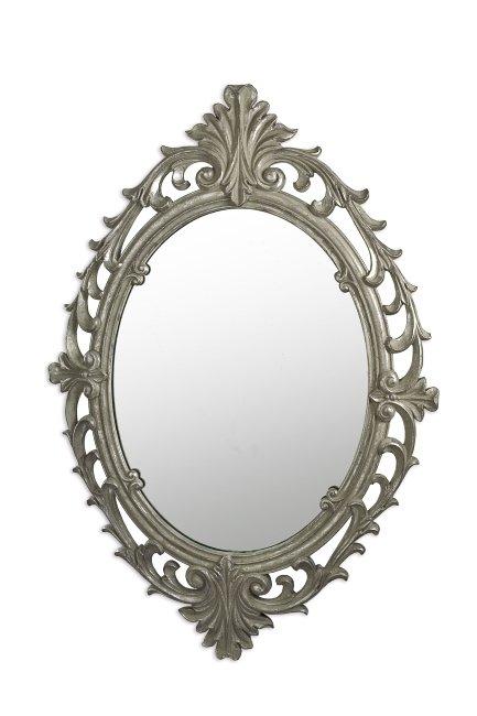 Vintage Καθρέπτης Τοίχου Poly Αντικέ (Μήκος: 53 Βάθος: 2,5 Ύψος: 76)