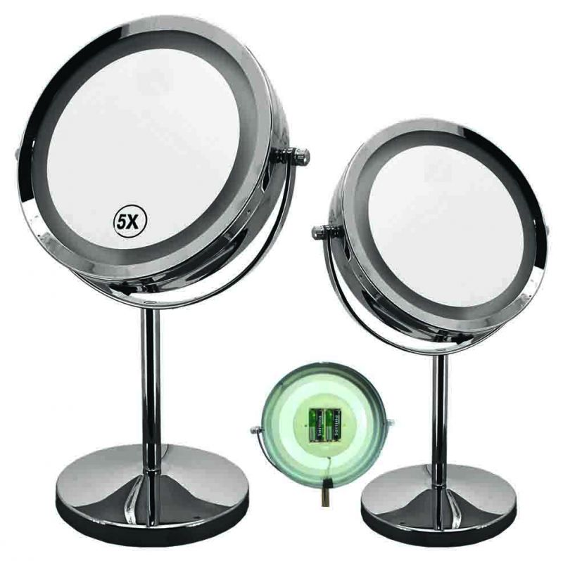 Καθρέπτης μεγεθυντικός Gloria Tavola LED