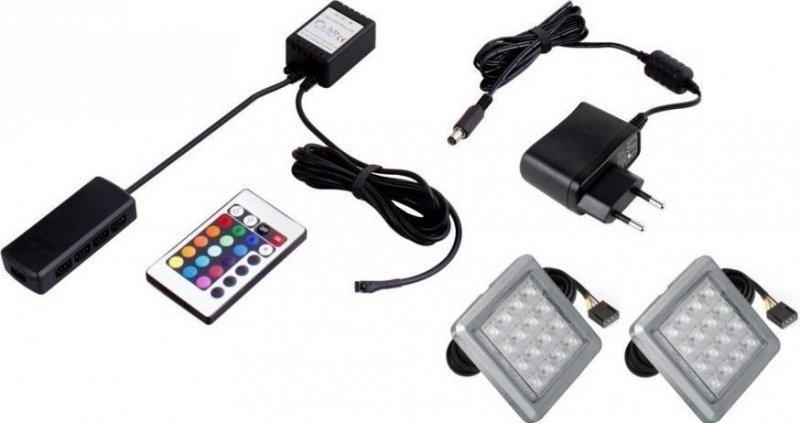 Φωτισμός LED 0002 – RGB – Σετ 2τμχ