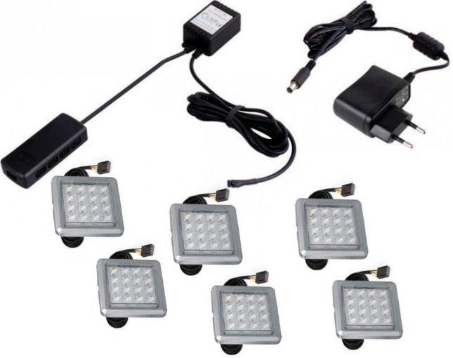 Φωτισμός LED 0006 – White – Σετ 6τμχ