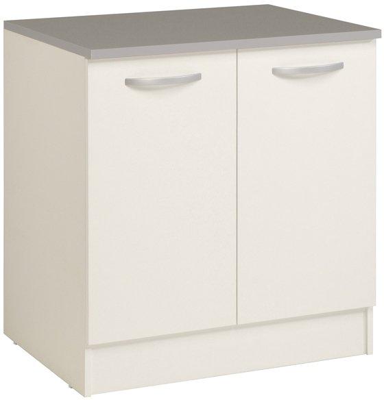 Επιδαπέδιο ντουλάπι Eikko 80-Λευκό