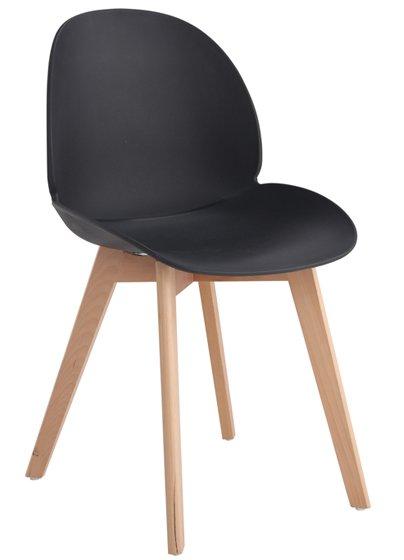 Καρέκλα Rimo-Μαύρο