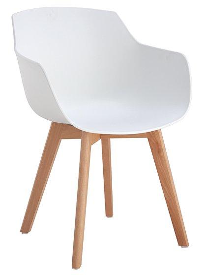 Πολυθρόνα Motley-Λευκό