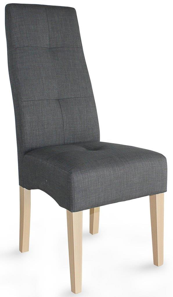 Καρέκλα Elysion-Γκρι – Φυσικό