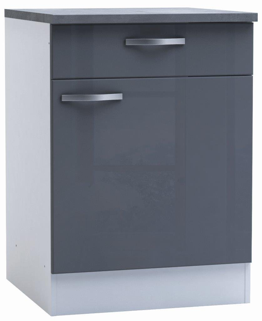 Επιδαπέδιο ντουλάπι Redgrey-60φ 60β 85ψ εκ.
