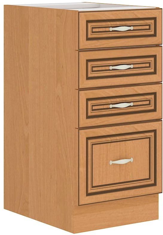 Επιδαπέδιο ντουλάπι Barok 40 D 4S