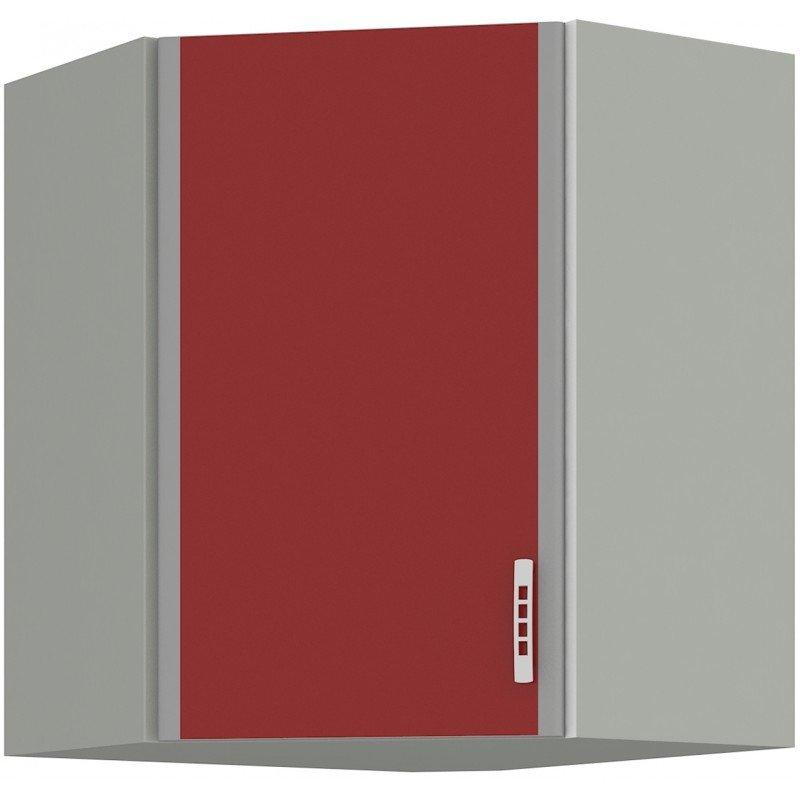 Επίτοιχο γωνιακό ντουλάπι Velvet 58×58
