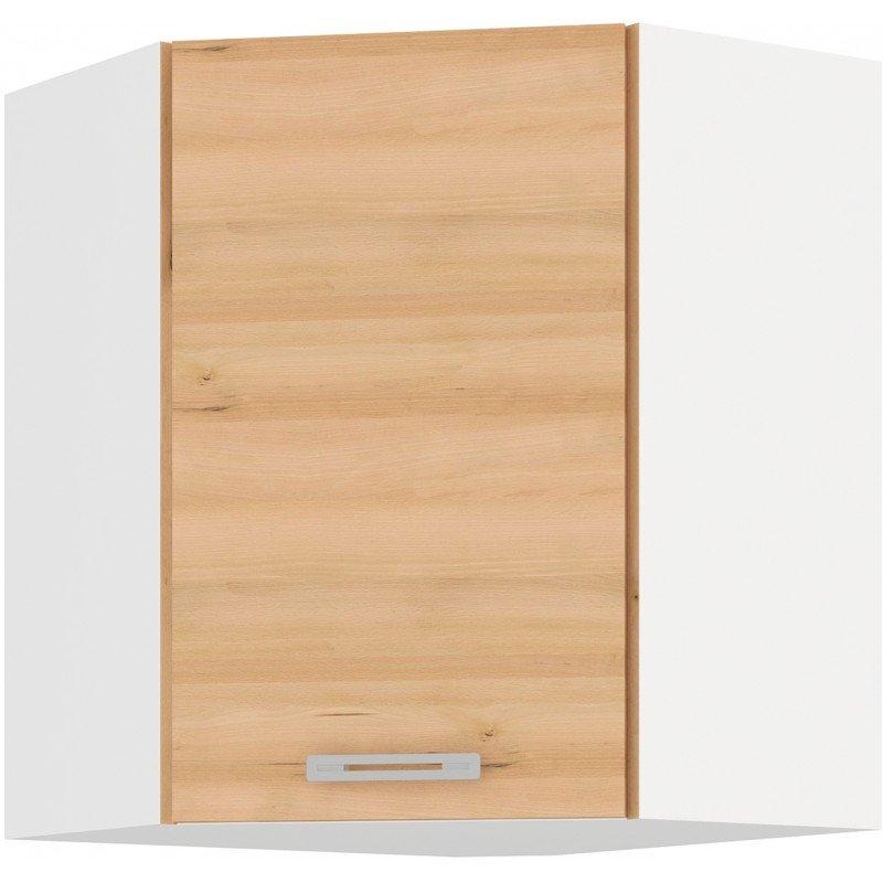 Επίτοιχο γωνιακό ντουλάπι Fresco 58×58