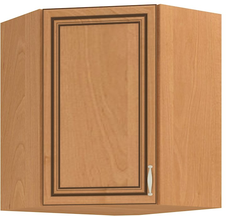 Κρεμαστό γωνιακό ντουλάπι Barok