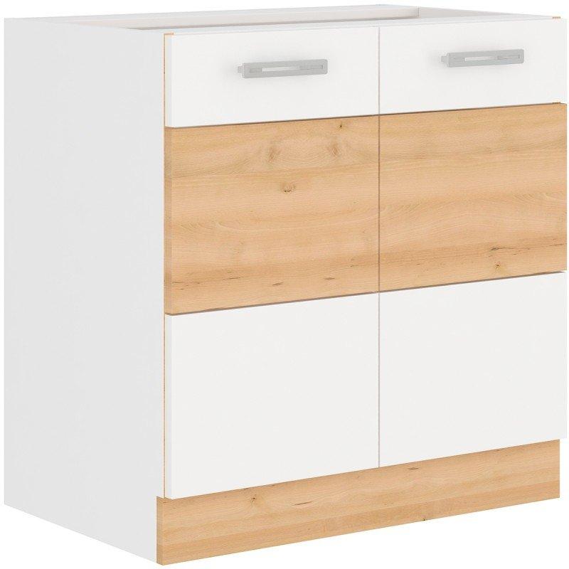 Επιδαπέδιο ντουλάπι Fresco 80D 2F BB