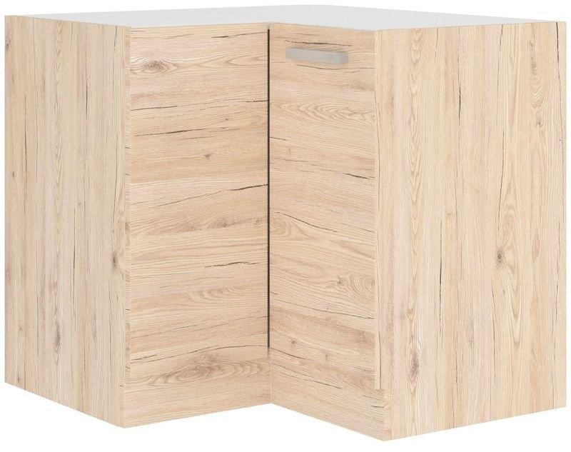 Επιδαπέδιο γωνιακό ντουλάπι Beaux 90×90 DN BB