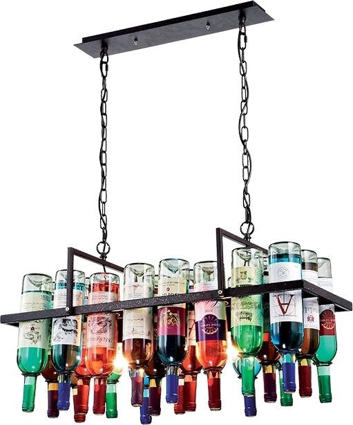 Φωτιστικό οροφής Elmark Bottles 2φωτο