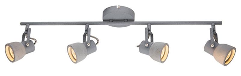 Σποτ οροφής τετράφωτο Mecent