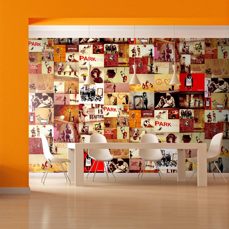 Φωτοταπετσαρία - Collage - Banksy 50x1000