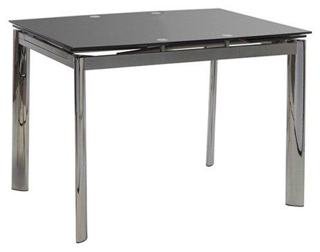 Τραπέζι Ανοιγόμενο Alpino 100-Μαύρο