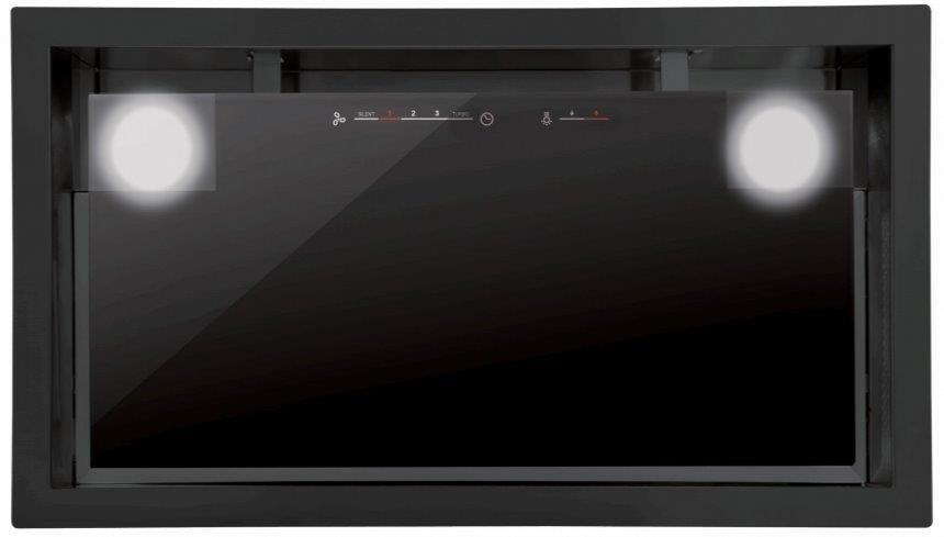 Απορροφητήρας GC Dual -Μήκος: 45 εκ.-Μαύρο