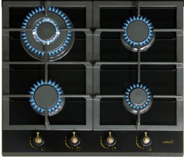 Εστία αερίου RCI 631-Μαύρο