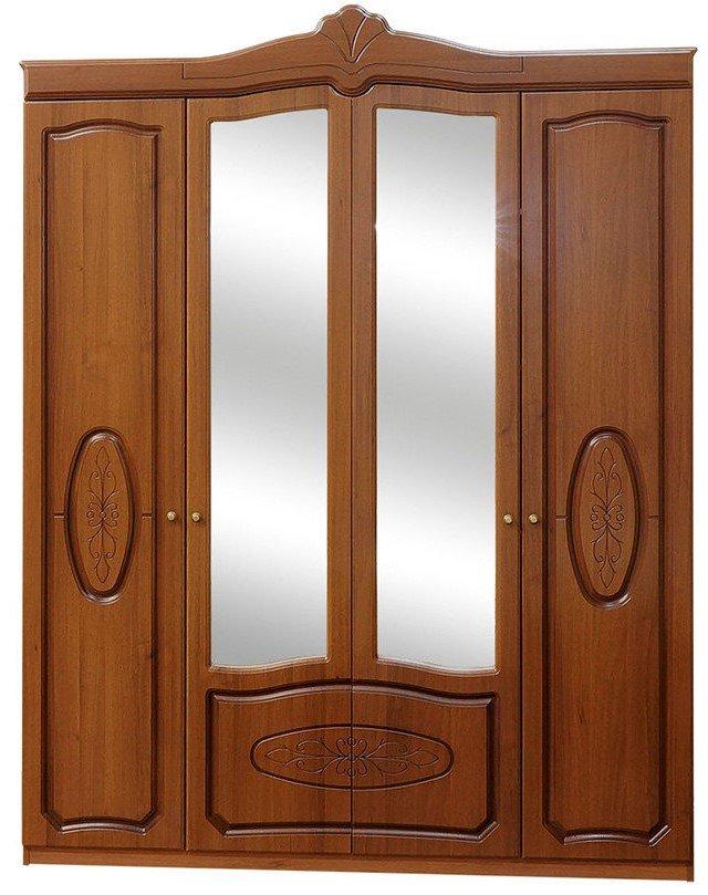 Τετράφυλλη ντουλάπα Catrina