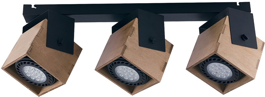 Ράγα οροφής Wezen spot 3φωτη