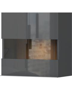 Κρεμαστή βιτρίνα χαμηλή Agate 1D