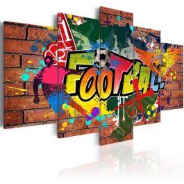Πίνακας - soccer (graffiti)