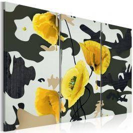 Πίνακας - Painted by poppies - triptych