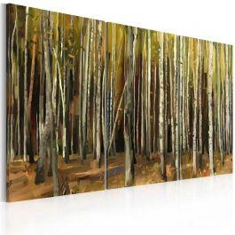 Πίνακας - The mystery of Sherwood Forest - triptych