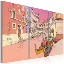 Πίνακας - Romantic gondolas
