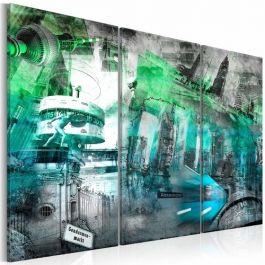 Πίνακας - Berlin - architecture (green)