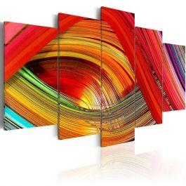 Πίνακας - Colorful strips abstraction