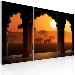 Πίνακας - The tranquillity of Africa - triptych
