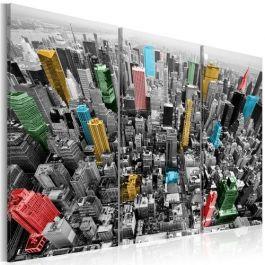 Πίνακας - New York in the CMYK color model