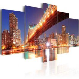 Πίνακας - Golden reflections - NYC