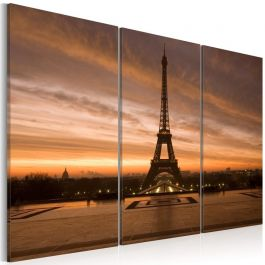 Πίνακας - Eiffel Tower at dusk
