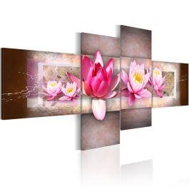Πίνακας - Delicate water lilies