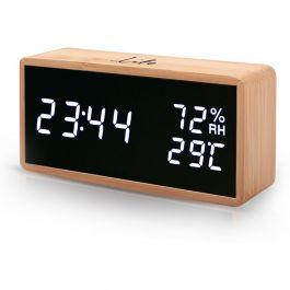 Ψηφιακό θερμόμετρο & υγρόμετρο Life Noble Bamboo