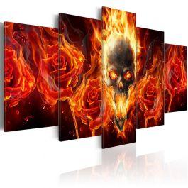 Πίνακας - Fiery skull
