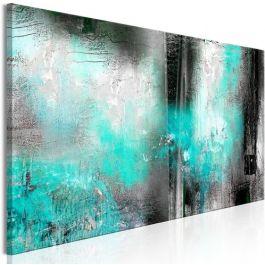 Πίνακας - Turquoise Fog (1 Part) Narrow
